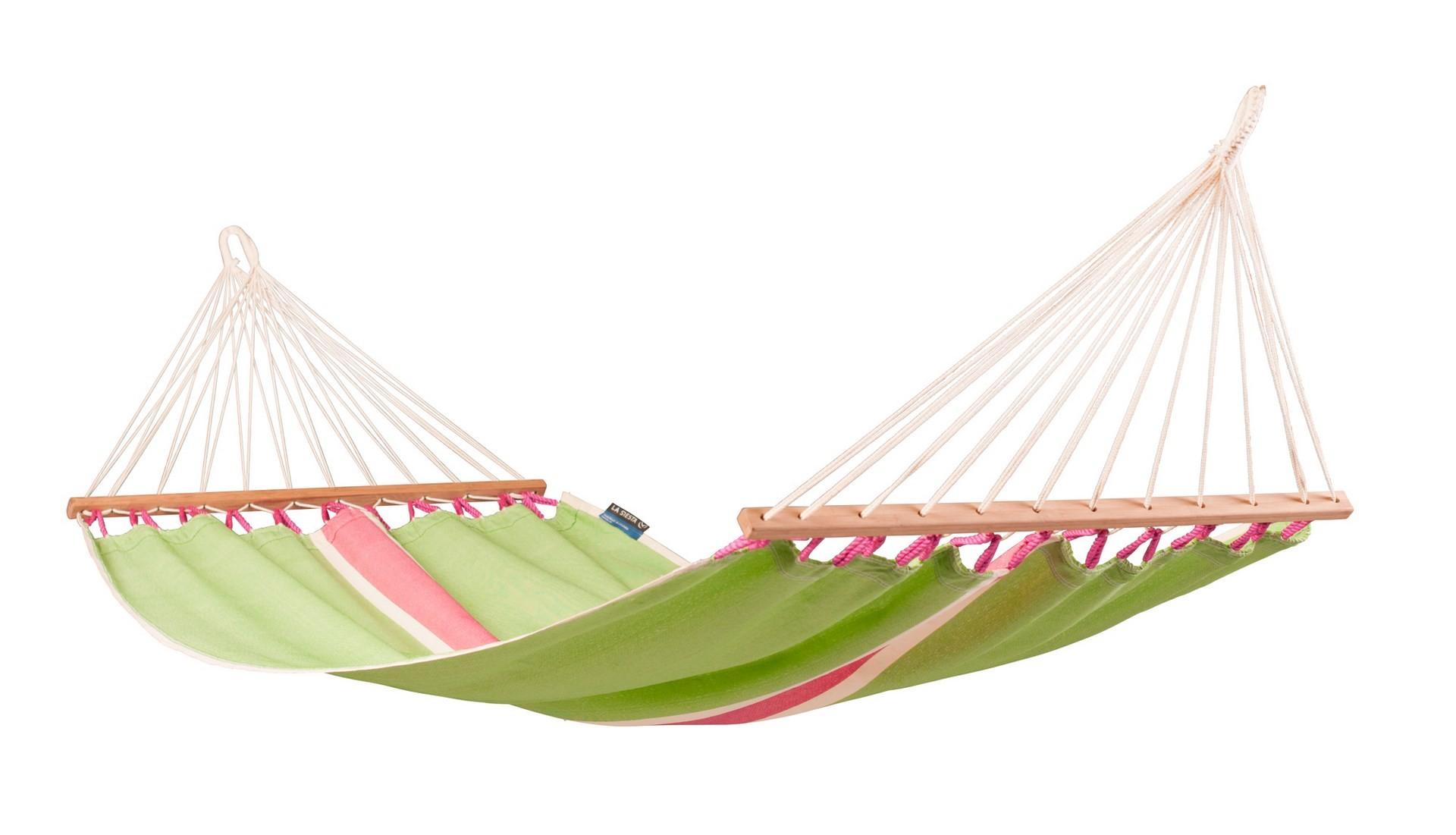 Houpací síť s tyčemi La Siesta Fruta Single