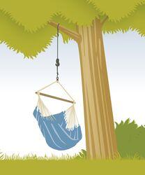 Uchycení houpací sedačky La Siesta Tree Rope